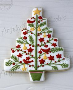 CookieCrazie: More Homespun Tree Cutter Cookies