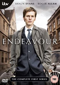 Endeavour - British mystery show about a young Inspector Morse.Great Show