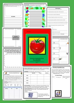 Growing Vegetable Soup Guided Reading Unit By Lois Ehlert