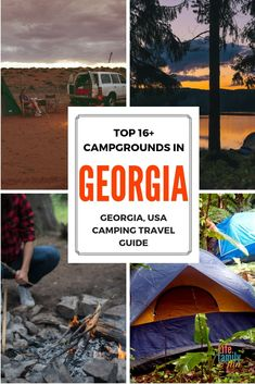 Best Campgrounds in Georgia – Camping Travel Guide for 2019 If you are looking for the best place to camp in Georgia, look no further than this great list of the top 10 campgrounds in Georgia. Best Places To Camp, Camping Places, Camping Spots, Go Camping, Camping Ideas, Camping Jokes, Beach Camping, Camping Stuff, Outdoor Camping