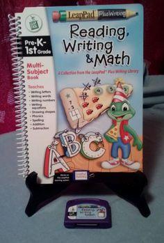 Leap Frog, LeapPad Plus Writing Pre-K 1st Grade Mult-Subject book & cartridge in Toys & Hobbies | eBay