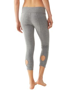 Move It Leggings | Alternative Apparel - Love the keyhole detail