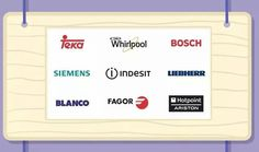 Bosch Siemens Whirlpool Hotpoint Indesit Teka Liebherr Blanco