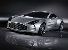 Aston Martin One 77 with carbon fiber body.