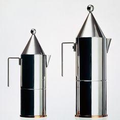 La Conica espresso maker by Aldo Rossi for Alessi
