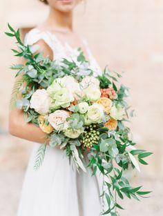 Bridal bouquet. Wedding Tuscany. @weddingsbysilke