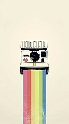 Polaroid Camera Colorful Rainbow Illustration iPhone 6 Wallpaper - Best of Wallpapers for Andriod and ios Galaxy Wallpaper, Wallpaper Para Iphone 6, Beste Iphone Wallpaper, Camera Wallpaper, Whatsapp Wallpaper, Rainbow Wallpaper, Tumblr Wallpaper, Aesthetic Iphone Wallpaper, Disney Wallpaper
