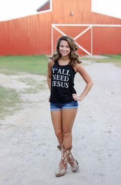 Because i love Jesus Redneck Girl, Sexy Cowgirl, Evolution Of Fashion, Cool Outfits, Fashion Outfits, Cowgirls, Country Girls, Thunder, Heavenly