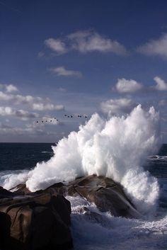 Crash-Splash Capo Testa, Sardinia