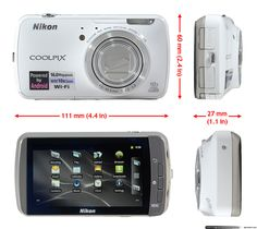 Nikon Coolpix S800c Android camera first look
