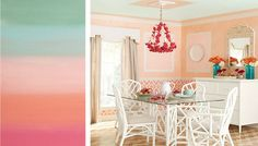 Ombré Painting Technique Brought to you by Lowes Creative Ideas Introduce a rainbow of colors to any room with the ombré painting technique. Get beautiful results without specialty paints or special tools.
