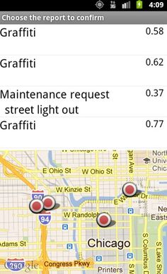Chicagoans: 311 is so last century. Tell Chicago what needs attention now straight from your Android device! Fixit! allows you to report what's broken, what needs cleaning or a simple check up so they can direct city resources where they're needed most. Go beyond reporting and get involved - Fixit! will occasionally ask you to check out reports submitted by other users to help the city determine which areas should be tended to first. Open Data, Chicago, Android, Cleaning, City, Simple, Check
