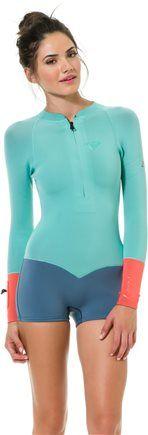 Surfer Girl. Roxy K Meador 2MM Long Sleeve Springsuit http://www.swell.com/New-Arrivals-Gear/ROXY-K-MEADOR-2MM-LS-SPRINGSIUIT?cs=GR