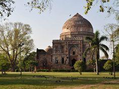 Les jardins de Lodi, à Delhi, en Inde.