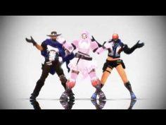 VJ Troll's game video: (오버워치 패러디)새로운 여아이돌 입성! 리퍼와 아이들 [Cutie Honey (큐티허니)...