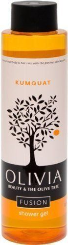 Olivia Olive Beauty Emollient Shower Gel with Organic Olive Fruit  Kumquat extracts from Greece 101 oz >>> Read more reviews of the product by visiting the link on the image.