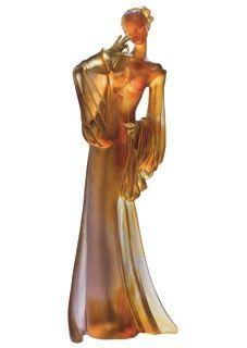 Le Jeu des 7 perles (Deville-Chabrolle pour DAUM)   // Sculpture éditée en pâte de cristal par la maison DAUM  //  ...