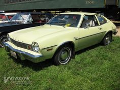 1976 Ford Pinto-- Traded Mustang for this to drive to work 1976.