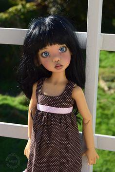 Mes filles de Kaye Wiggs, Mei Mei est arrivée page 8 - Page 5 Pretty Dolls, Cute Dolls, Black Freckles, Bjd Dolls, Girl Dolls, Chula, Doll Maker, Collector Dolls, Chiffon