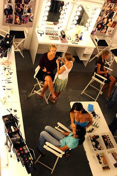Makeup Studio area