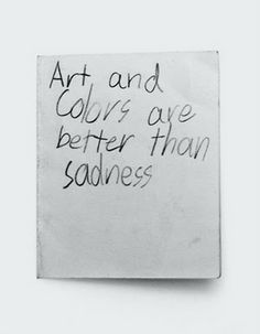 Truer words have never been spoken.  Wouldn't this be fun painted on a canvas with color decorations around it?
