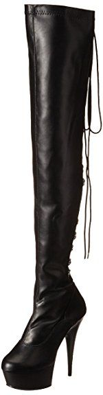 Pleaser Women's Delight-3063/B/PU Boot Review