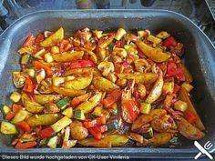 Mediterrane Kartoffel-Gemüsepfanne, ein schönes Rezept aus der Kategorie Gemüse. Bewertungen: 19. Durchschnitt: Ø 4,1.