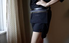 The Mo Bum Bag // Convertible Bag- also wear as cross-body www.velmavie.com