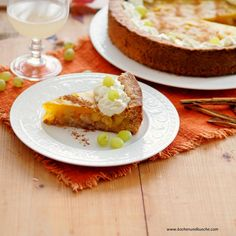 Weintraubenkuchen mit Sturmpudding-Creme Avocado Toast, Baked Potato, Potatoes, Creme, Baking, Breakfast, Ethnic Recipes, Food, Oven