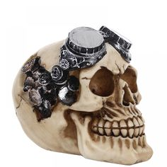Check that out: Resin Robotic Skull Statue  Price: $ 30.60 & FREE Shipping  Get it on decoify.com  #decor #homedecor #decoration #interior #instadecor #arquitetura #interiors #decoracao #furniture #homedesign #instahome #interiores #interiordecor #instadesign #decorating #homestyle #designdeinteriores #modern #casa #house #designer #iwant #ineed #omg #wow #gorgeous #perfect #lovely #nice #picture #stylish Buy Resin, Nice Picture, Statues, Robot, Sculptures, Interior Decorating, Skull, House Design, Interiors