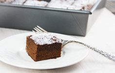 Spicy Gingerbread Cake (gluten-free, dairy-free)