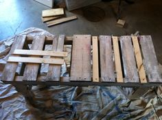 My 2nd Attempt at Re-purposed Pallet Art!!!