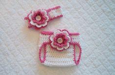 free shell pattern crochet diaper cover - Google Search