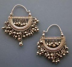 Silver Hoops Antique (Rajasthan)