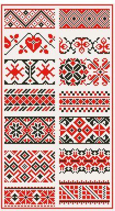 keresztszemes / hafty / embroidery