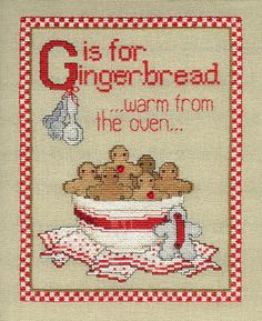 Gingerbread  - thinking warm thoughts on a cold wintery day