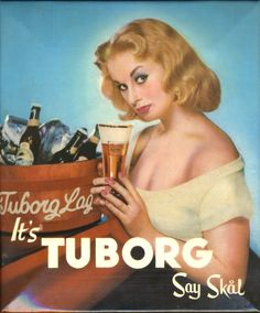 It´s Tuborg say skål