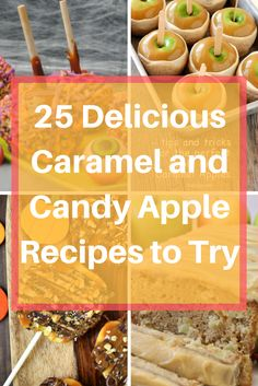 25 Delicious Caramel and Candy Apples to Try This Fall - COAM - Wth the fall time here, I couldn't resist sharing some good old fashioned recipes for 25 Delicious Caramel and Candy Apples to Try This Fall. Easy Drink Recipes, Yummy Drinks, Fall Recipes, Sweet Recipes, Crockpot Recipes, Dessert Recipes, Yummy Food, Desserts, Delicious Recipes
