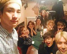 151221 [with jonghyun, minho, taemin, red velvet] Super Junior, K Pop, Key Instagram, Shinee Five, Nct, Exo Red Velvet, Fandom Kpop, Choi Min Ho, Kpop Memes