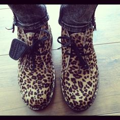Leopard #Clarks Desert Boots Instagram photo by @richelle1989