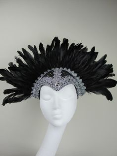 Black Feather Headdress