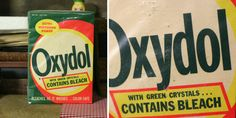oxydol... Remember this box of detergent and my grandma doing her wash with wringer washer in the basement.... Oh do we have it better now days ladies... There should be no complaining from us