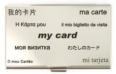 Porte cartes de visite ACME My Card