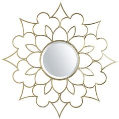 mirror for over a dresser or bed... Champagne Burst Mirror | Pier 1 Imports