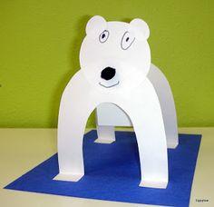 Standing Polar Bears