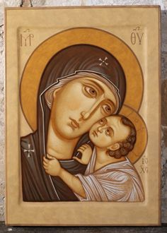 Mother of God by Maxim Sheshukov Greek Icons, Madonna, Mary And Jesus, Best Icons, Art Icon, Orthodox Icons, Blessed Mother, Mother Mary, Religious Art