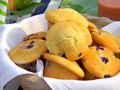 Blueberry Coffee Cake Muffins Recipe | Ina Garten | Food Network
