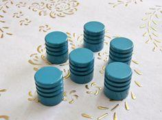 Pomelli d'ottone Italia in alta qualità. tourquoise