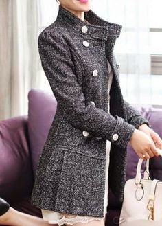 Slim Fit Ladies Winter Coat