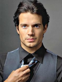 Oh my goodness! Mr. Cavill, you are one handsome man!